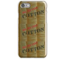 100 per cent Cotton Case iPhone Case/Skin