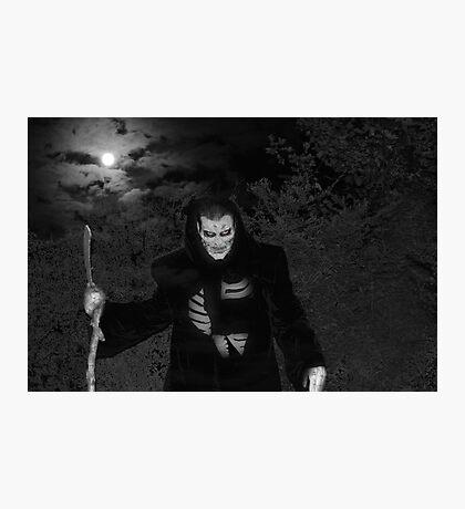 The Grim Reaper Photographic Print
