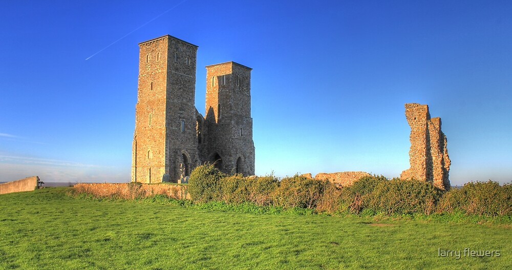 Reculver  (English Heritage) by larry flewers