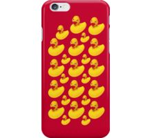 Yellow Rubber Ducks Case iPhone Case/Skin