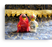 Lego Hindu Wedding Canvas Print