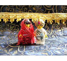 Lego Hindu Wedding Photographic Print