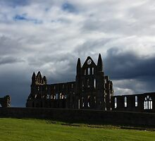 Whitby Abbey 1 by jasminewang