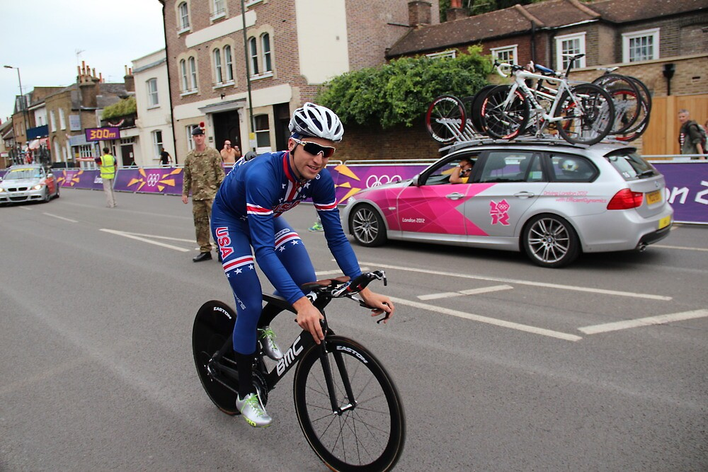Taylor Phinney - at Olympic Time Trial London 2012 by MelTho