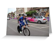 Taylor Phinney - at Olympic Time Trial London 2012 Greeting Card