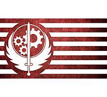 Fallout 4 Brotherhood Flag Photographic Print