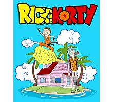 Rick and Morty Holidays Photographic Print