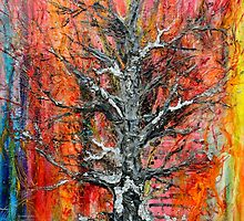 Wildfire  Tree of life No5   by Regina Valluzzi