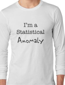Statistical Anomaly Long Sleeve T-Shirt