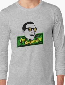 Fun Coupons! The Wolf of Wall Street Long Sleeve T-Shirt