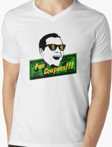 Fun Coupons! The Wolf of Wall Street Mens V-Neck T-Shirt