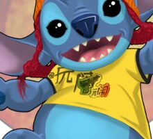 Ohana: Firefly/Stitch Mashup Sticker