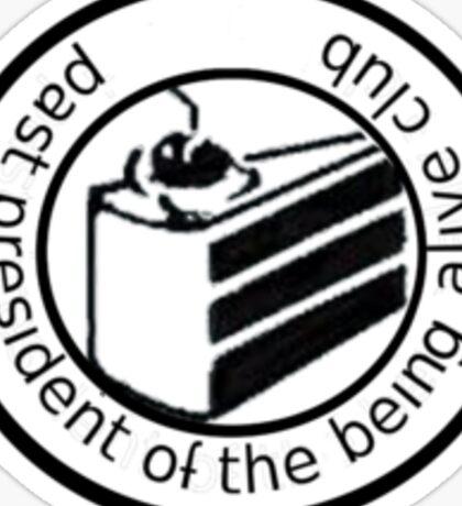Past president Sticker