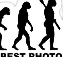 Evolution World's Best Photographer Sticker