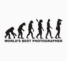 Evolution World's Best Photographer One Piece - Short Sleeve