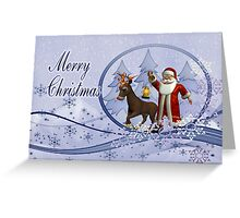 An Enchanted Christmas Greeting Card