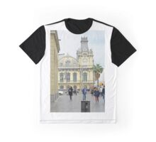 Mid-day Barcelona Graphic T-Shirt