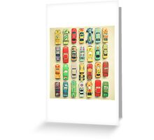 Car Park Greeting Card