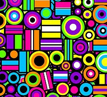 Licorice Allsorts II [iPad / iPhone / iPod case] by Damienne Bingham
