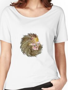 Sophie the Sleepy Hedgehog Women's Relaxed Fit T-Shirt