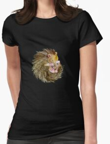 Sophie the Sleepy Hedgehog Womens Fitted T-Shirt