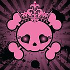 Sugar Skull & Crown by monkeydesigns4u