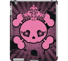 Sugar Skull & Crown iPad Case/Skin
