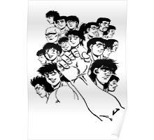 Hajime  No Ippo - Group Poster