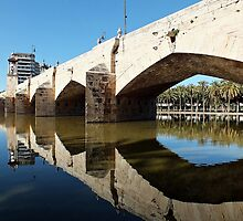 Puente Del Mar,The Gardens of Turia by Berns