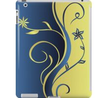 Floral Scroll Accent iPad Case/Skin