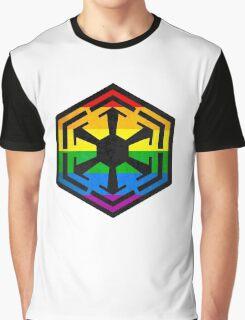 Rainbow Sith Graphic T-Shirt