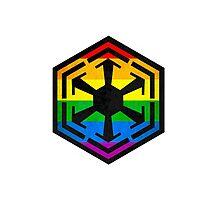 Rainbow Sith Photographic Print