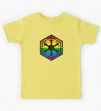 Rainbow Sith Kids Tee