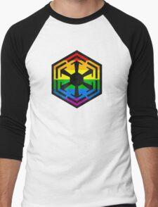 Rainbow Sith Men's Baseball ¾ T-Shirt