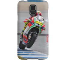 Valentino Rossi in Jerez 2012 Samsung Galaxy Case/Skin