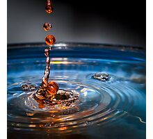 Elegant Water Droplet's  Photographic Print