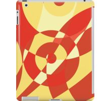 ABSTRACT CREAMSICLE iPad Case/Skin