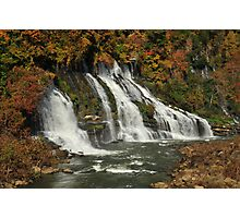 Twin Falls, Rock Island State Park, Tennessee Photographic Print