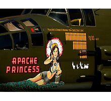 Apache Princess Photographic Print
