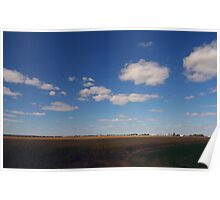 Cornfield plains of Ontario 2 Poster