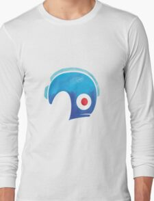 Mega Man Helmet Shirt or Hoodie Long Sleeve T-Shirt