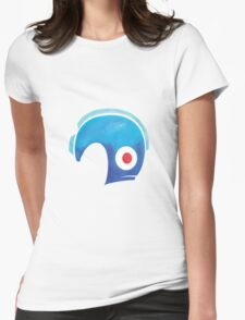 Mega Man Helmet Shirt or Hoodie Womens Fitted T-Shirt