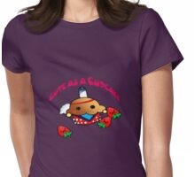 Cute as a cupcake! and ready to pow wow  Womens Fitted T-Shirt