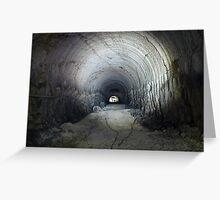 Limestone Quarry Greeting Card