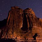 Shooting Star. Canyonlands National Park by Ron Risman