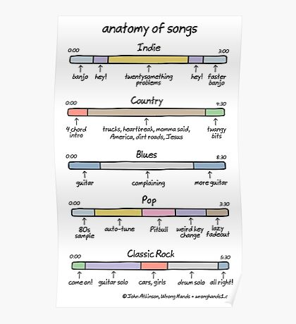 anatomy of songs Poster