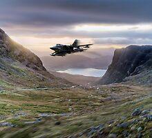 Tornado up Bealach na Ba by Gary Eason + Flight Artworks