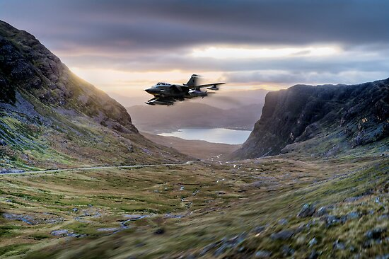 Tornado up Bealach na Ba by Gary Eason + Flight Artworks