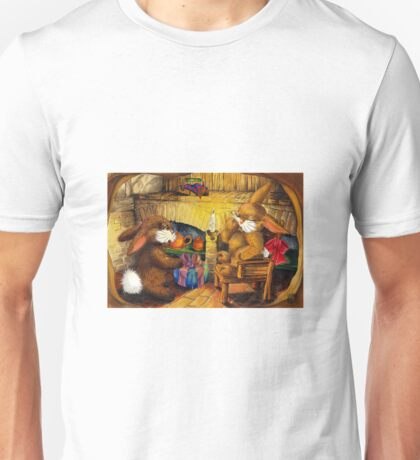 HOLIDAY SEASON IN THE RABBIT HOLE Unisex T-Shirt