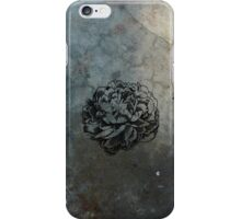Peony on Concrete iPhone Case/Skin